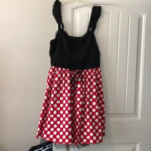 Torrid Minnie Mouse dress